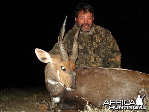 3 horned Limpopo Bushbuck - 2008