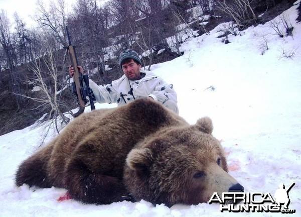 Hunting Brown Bear in Kamtschatka