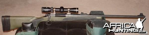 Remington XCR II 375 H&H
