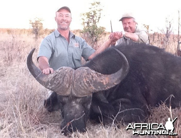 My dad Buffalo hunted in Zimbabwe
