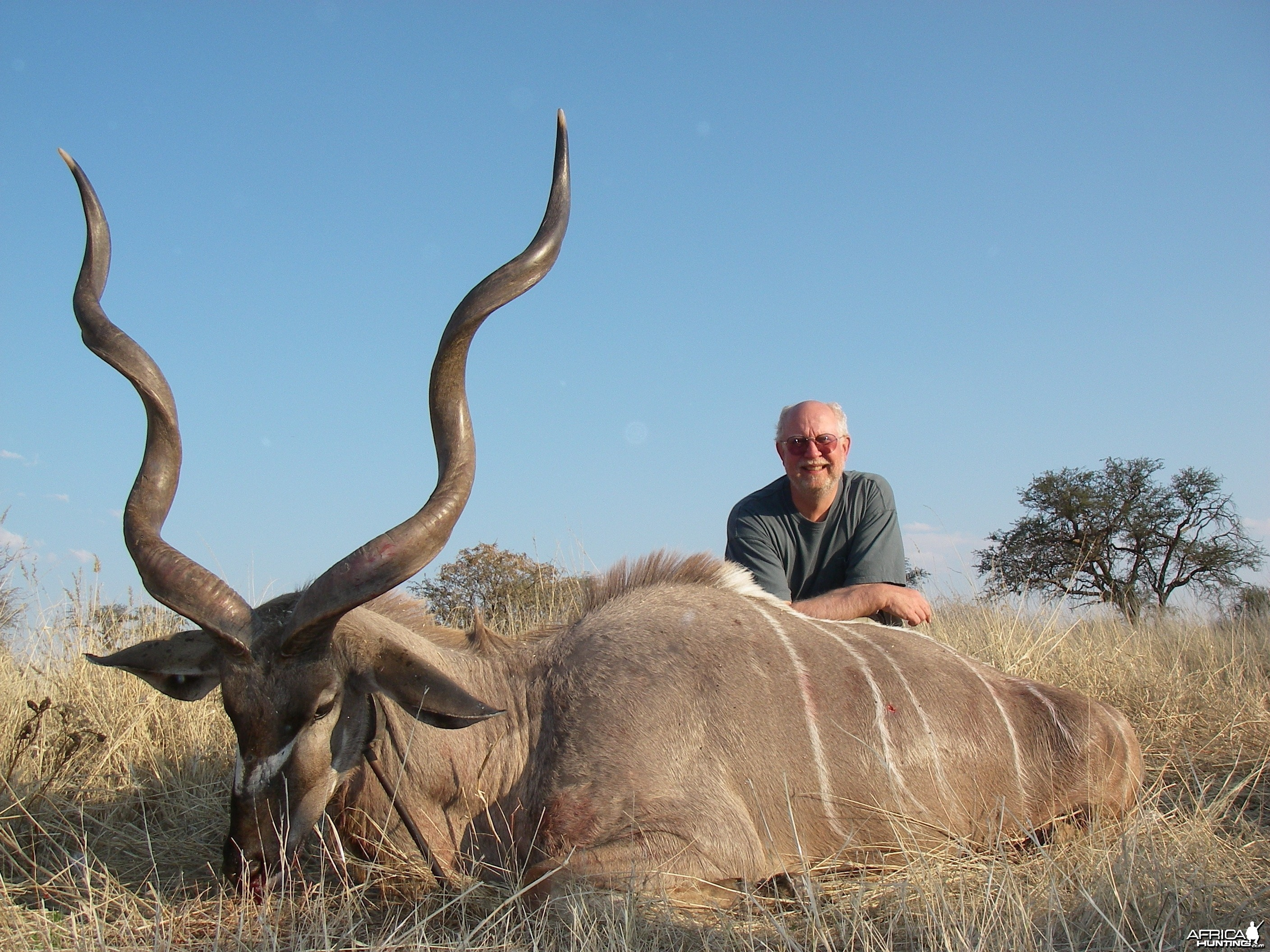 Kudu harvested by Kowas Hunting Safaris