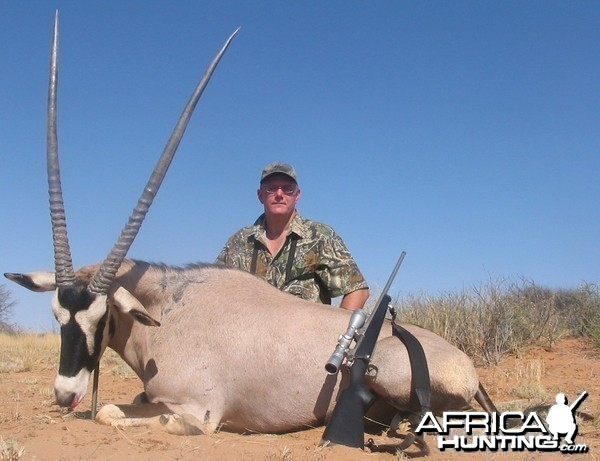 Oryx with Kowas Hunting Safaris