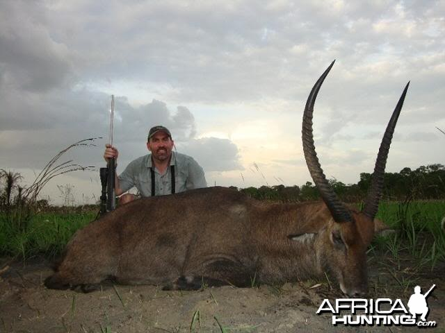 Waterbuck hunted with CAWA in CAR
