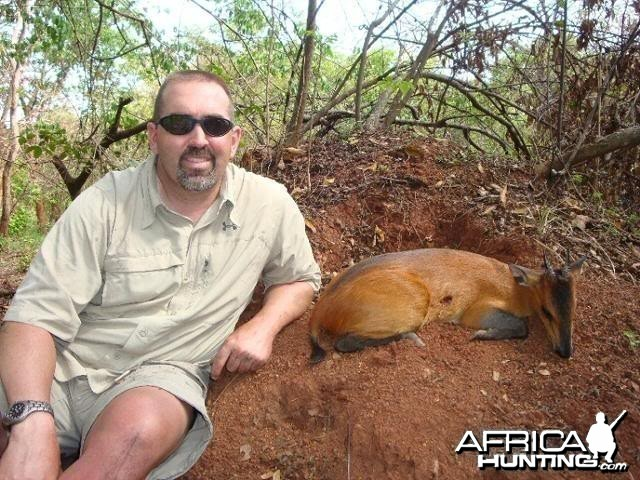 Red Flanked Duiker hunted with CAWA in CAR