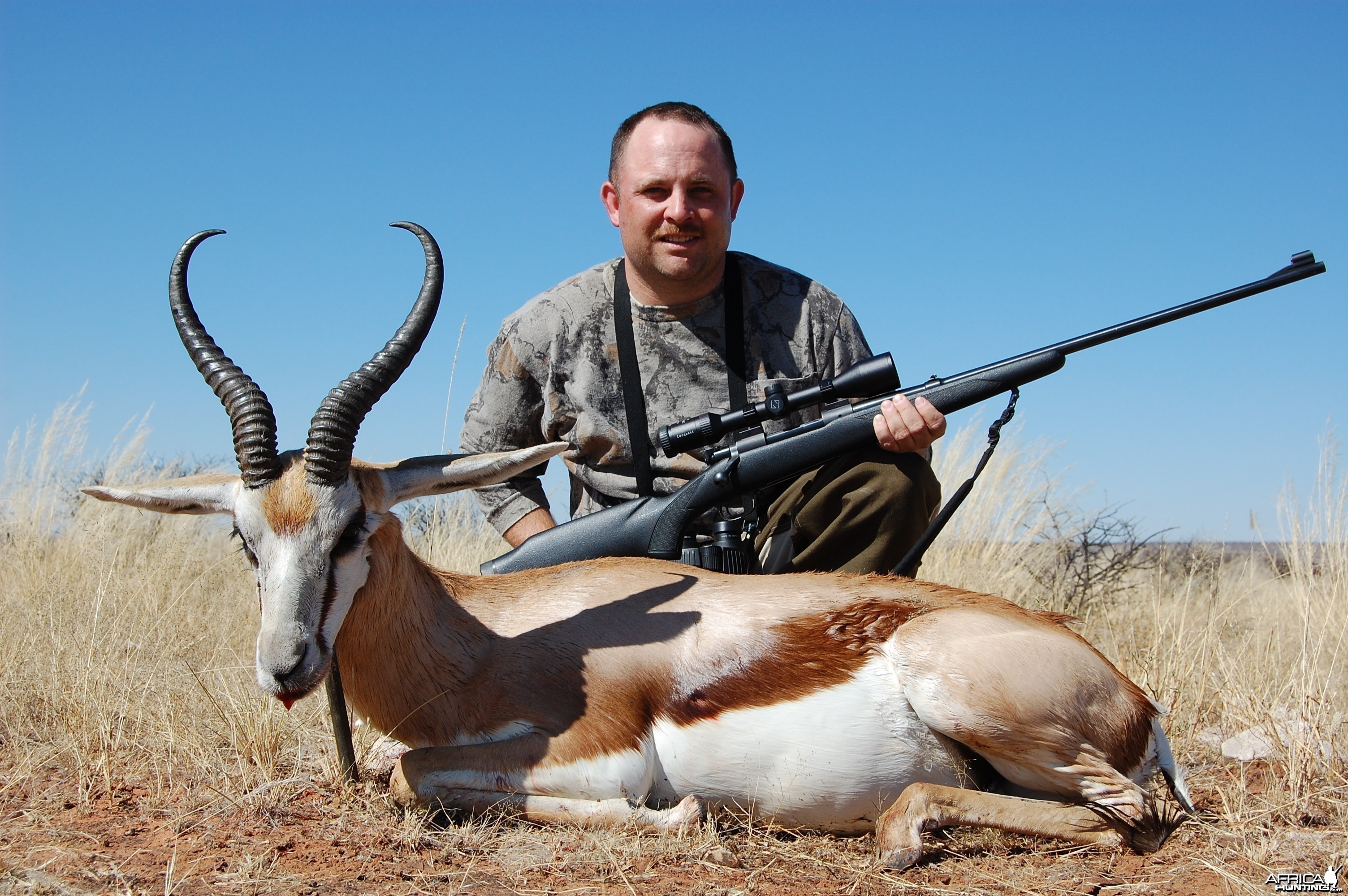 Springbuck with Kowas Hunting Safaris