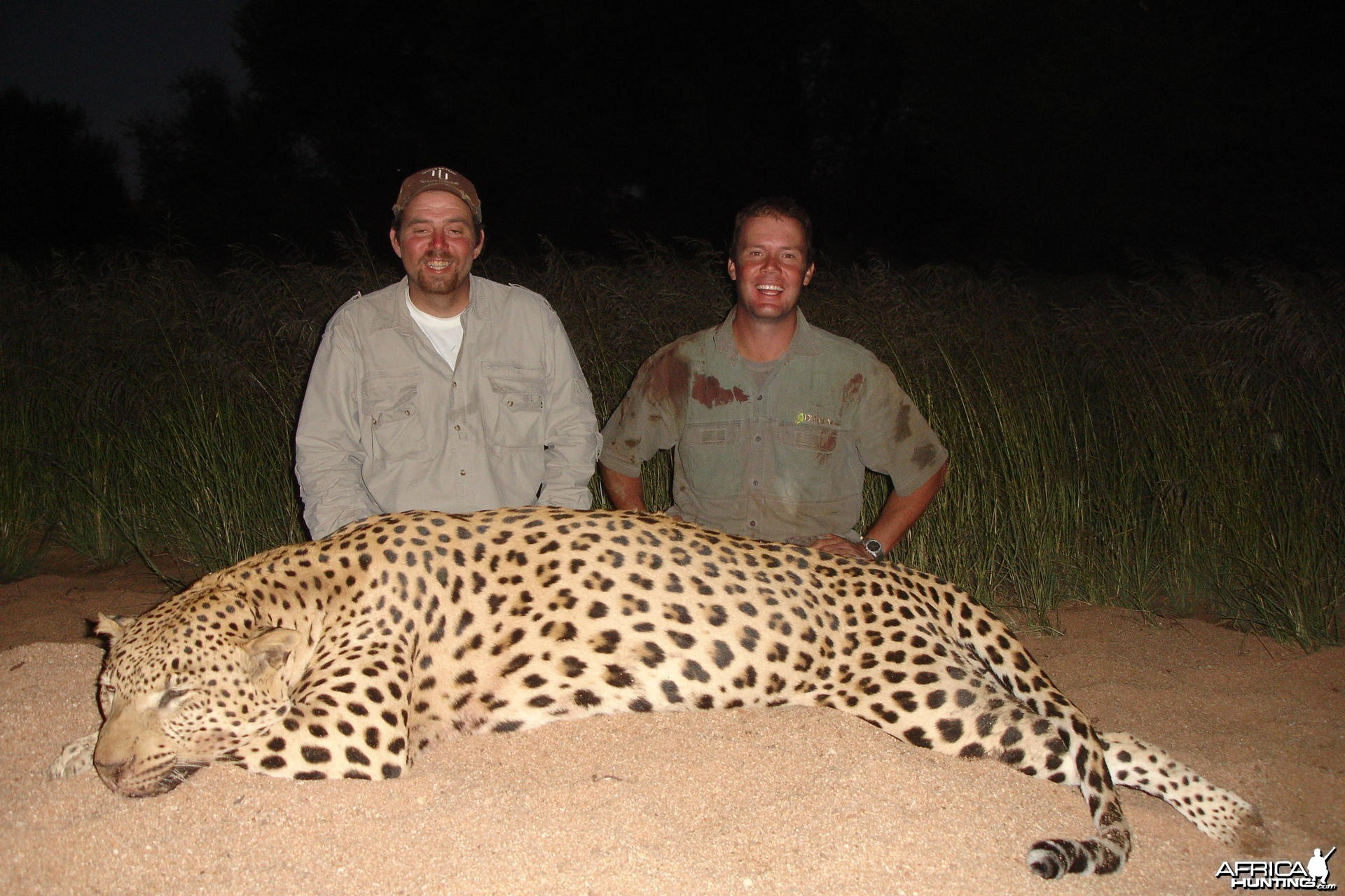 SCI No 4 and Namibia No 1 Leopard - 84kg