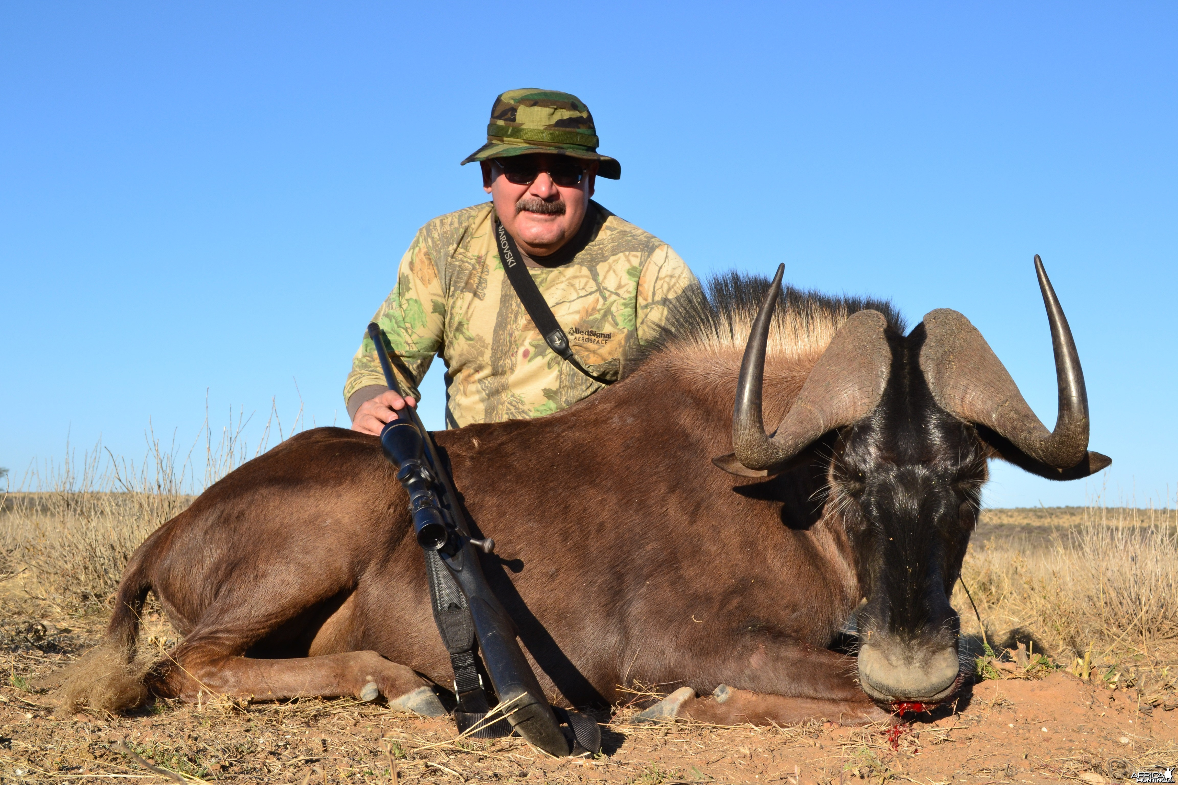 Kowas Hunting Safaris BLACK WILDEBEEST trophy
