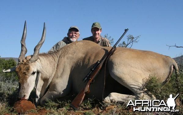 Eland hunt in South Africa