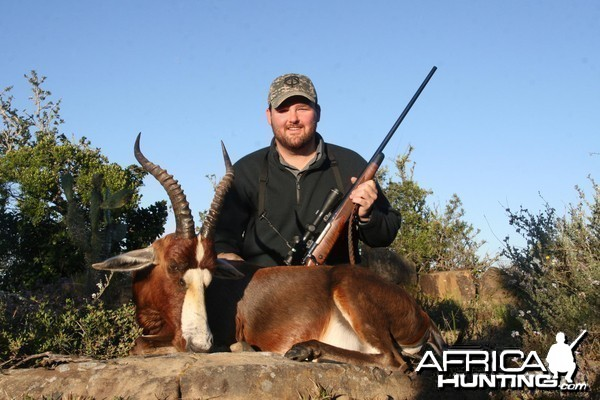 Blesbok hunt in South Africa