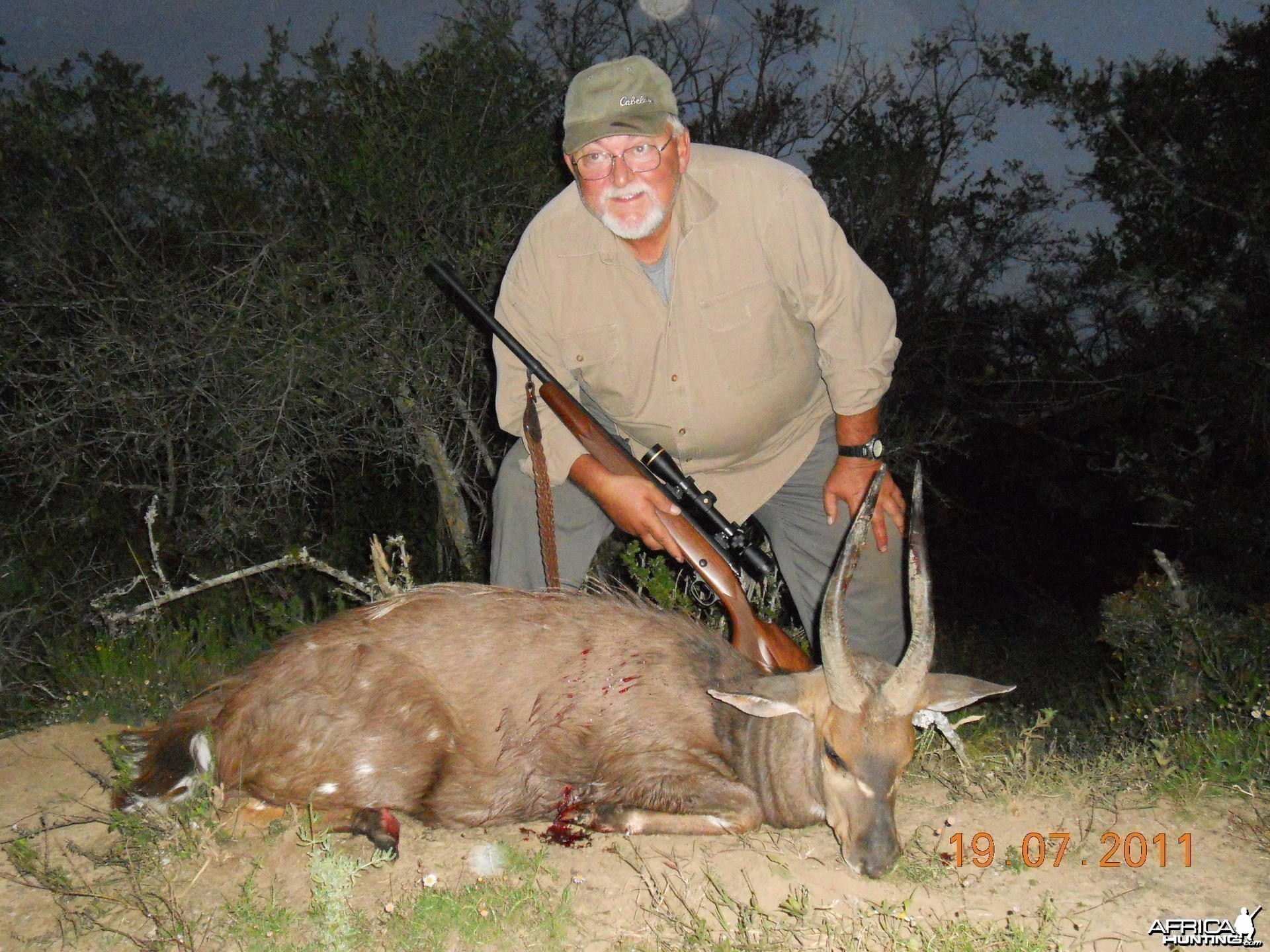 Bushbuck hunt in South Africa