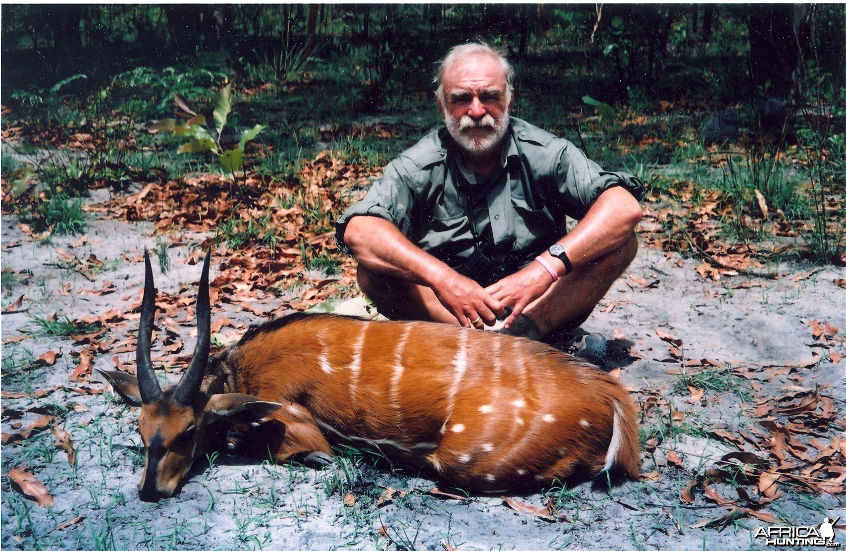 Hunting Bushbuck in CAR with Rudy Lubin Safaris