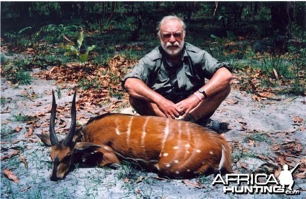 Hunting Bushbuck in CAR with Rudy Lubin Safaris