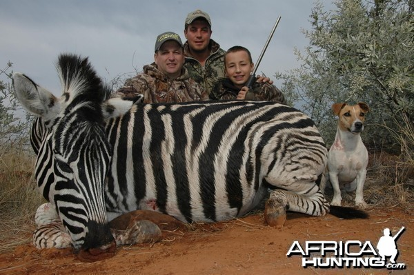 Zebra Hunt with HartzView Hunting Safaris in South Africa
