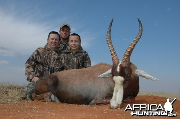 Blesbok Hunt with HartzView Hunting Safaris in South Africa