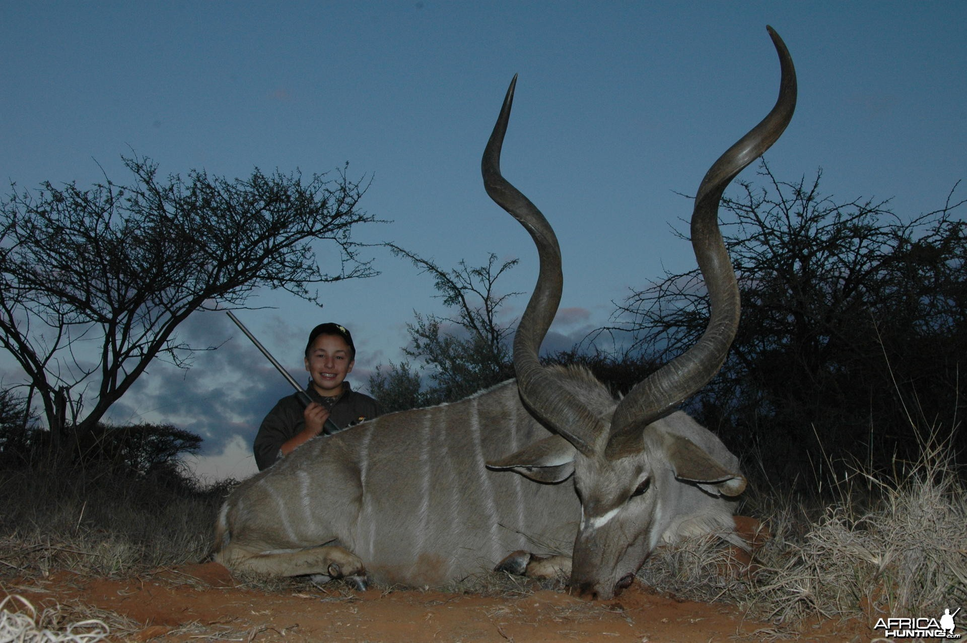 Kudu Hunt with HartzView Hunting Safaris in South Africa