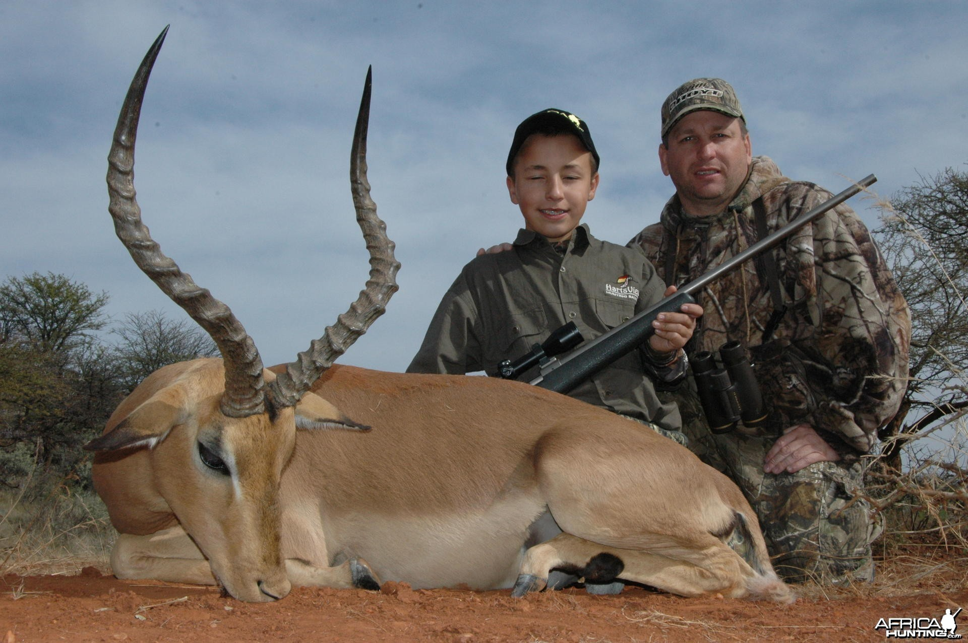 Impala Hunt with HartzView Hunting Safaris in South Africa