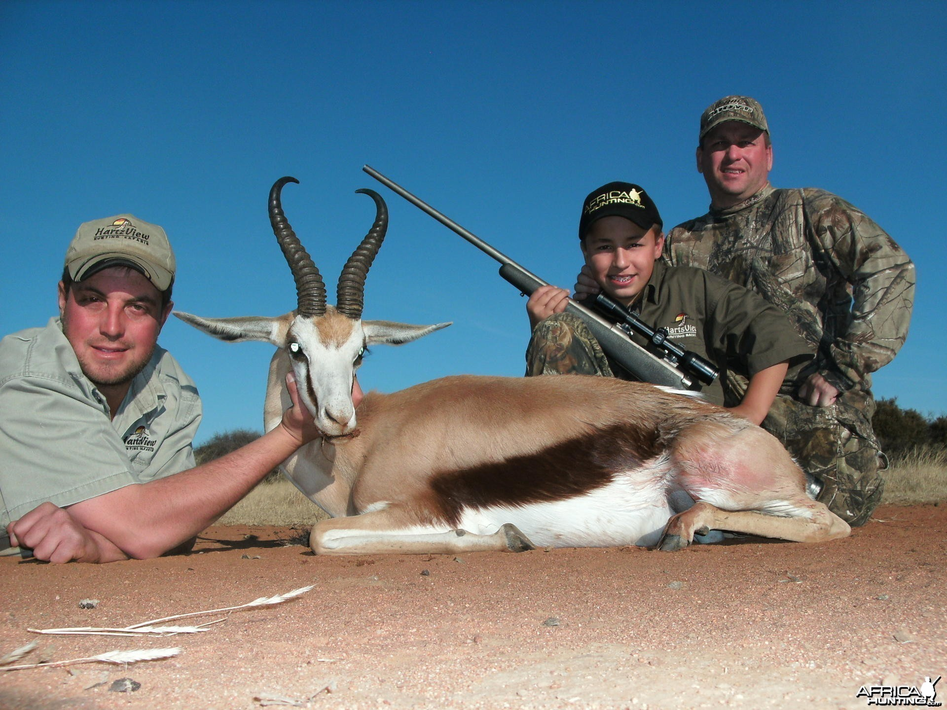 Springbok Hunt with HartzView Hunting Safaris in South Africa
