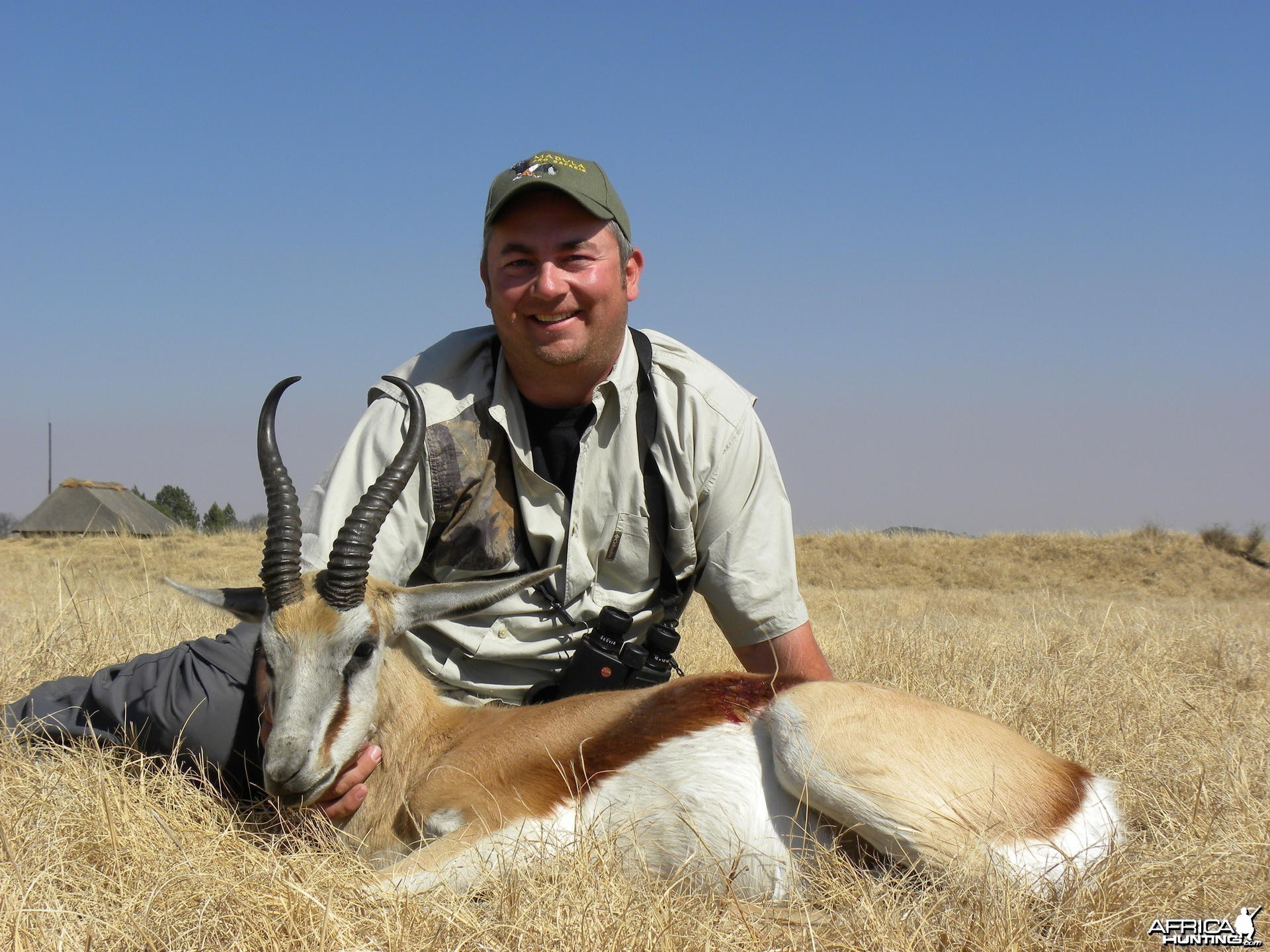 Springbok Hunt at Mabula Pro Safaris