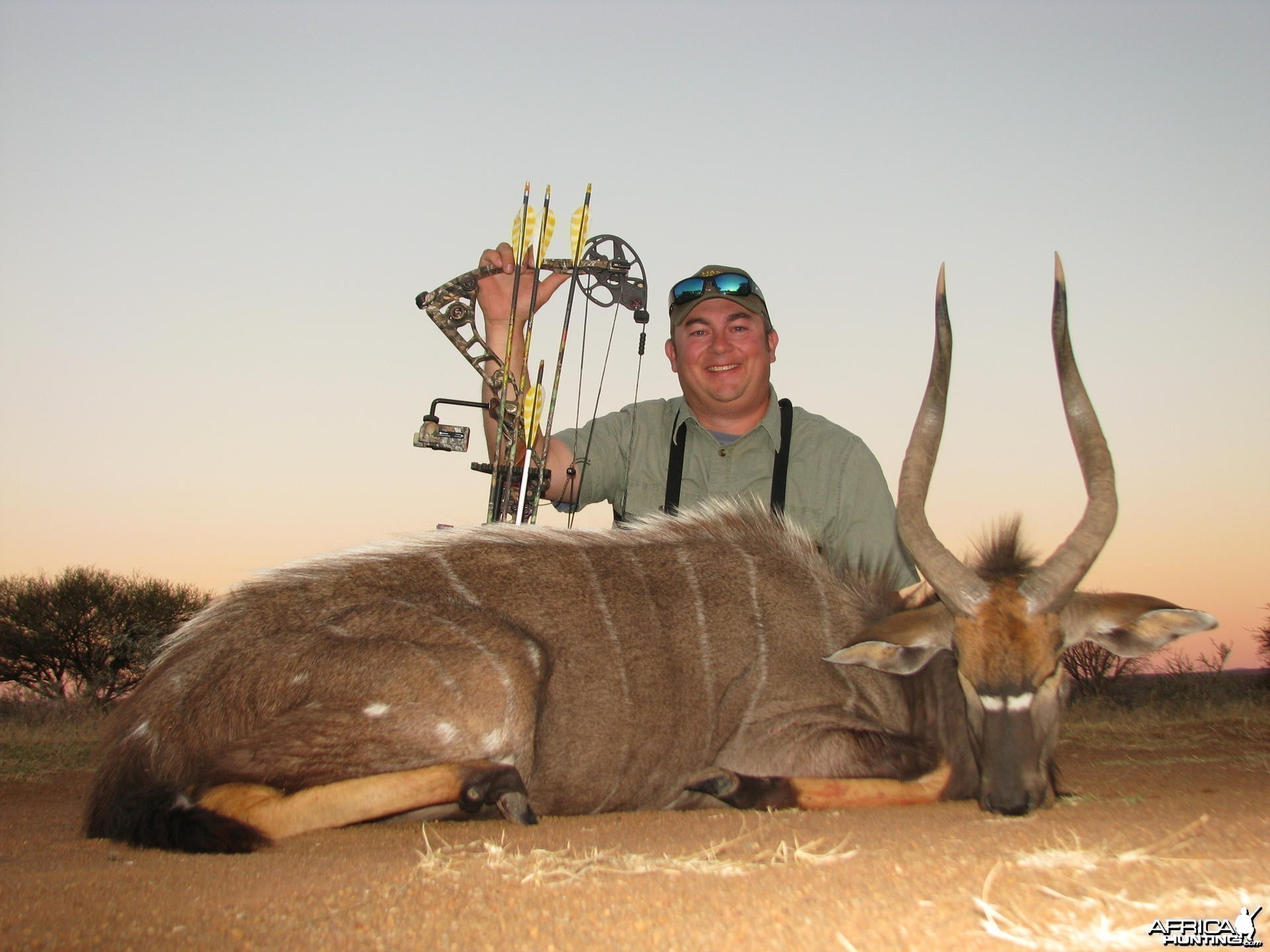 Nyala Bowhunt at Mabula Pro Safaris