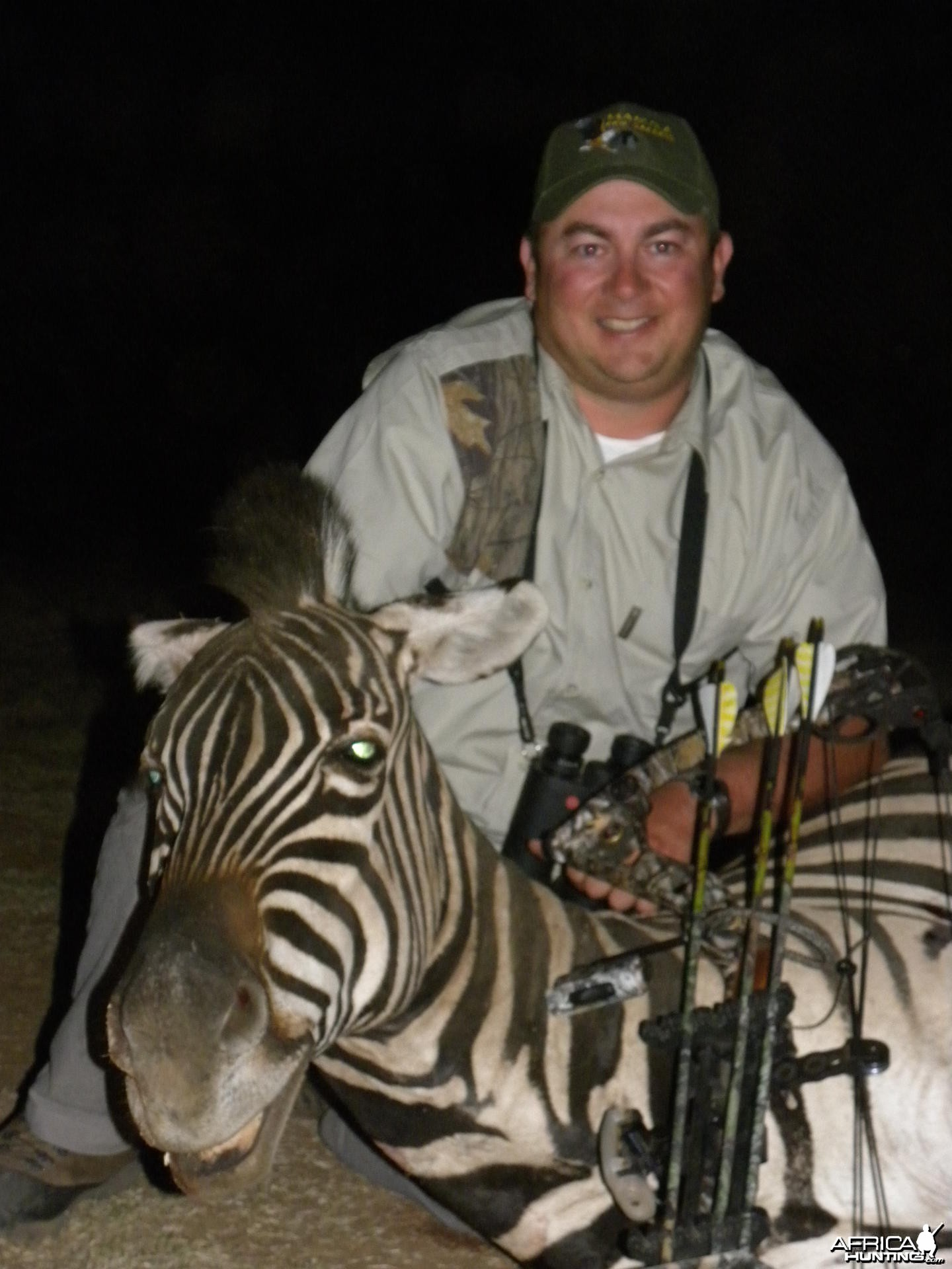 Zebra bowhunt at Mabula Pro Safaris
