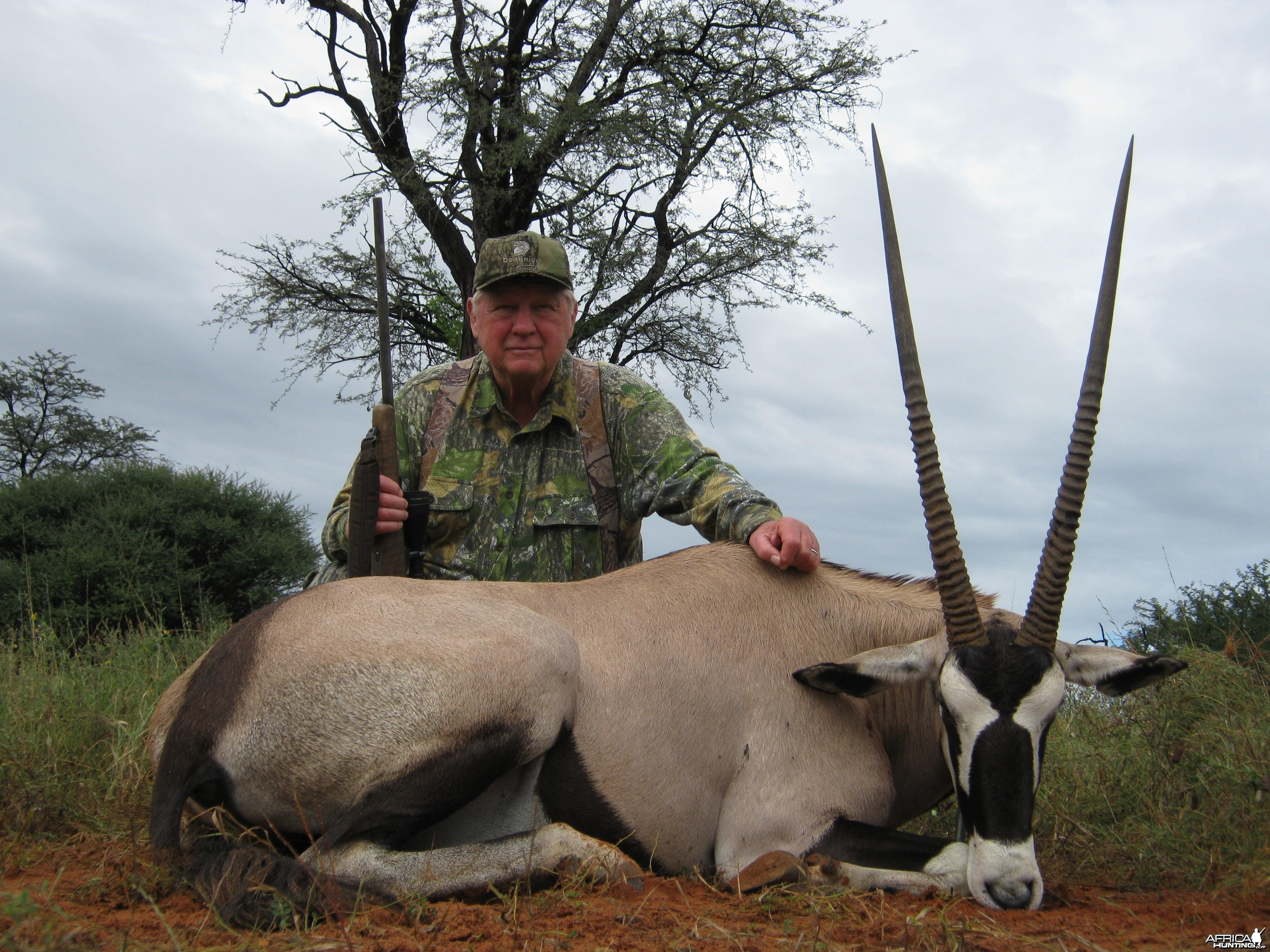 Oryx with Kowas Hunting Safaris