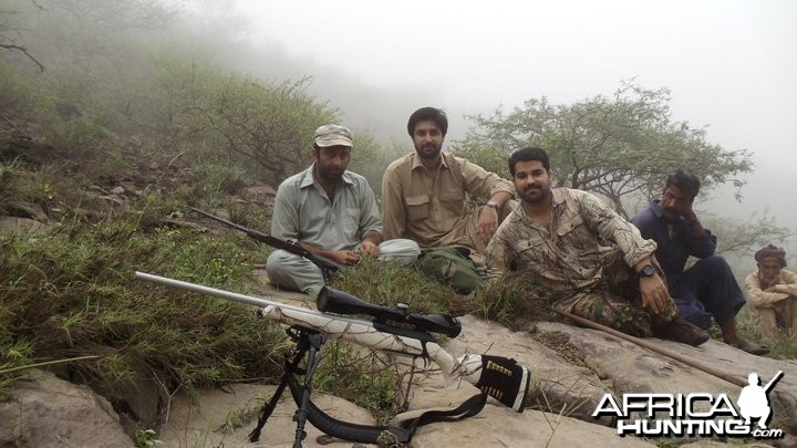 Hunting Sheep in Pakistan