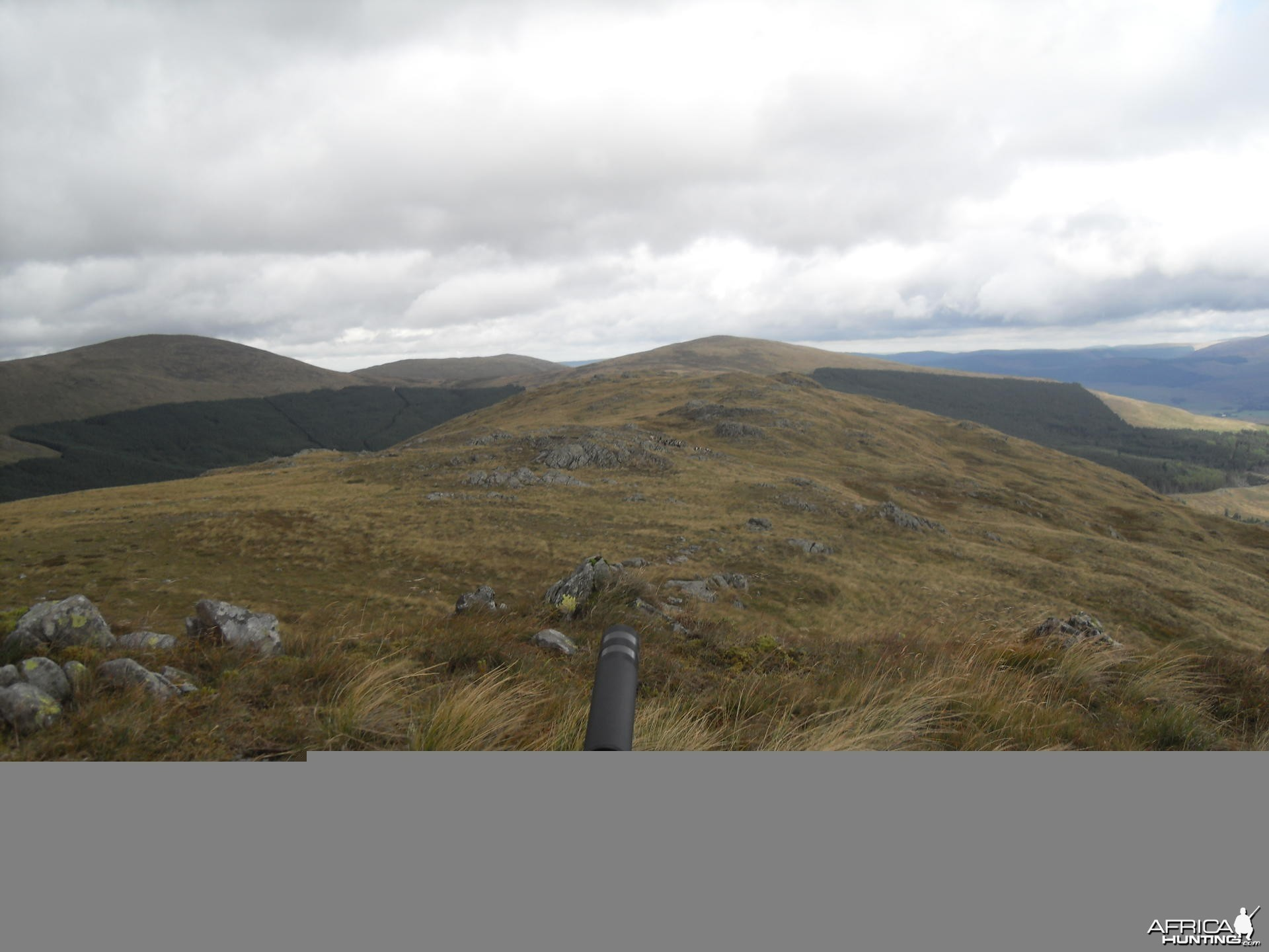 Hunting in the Scottish Mountains