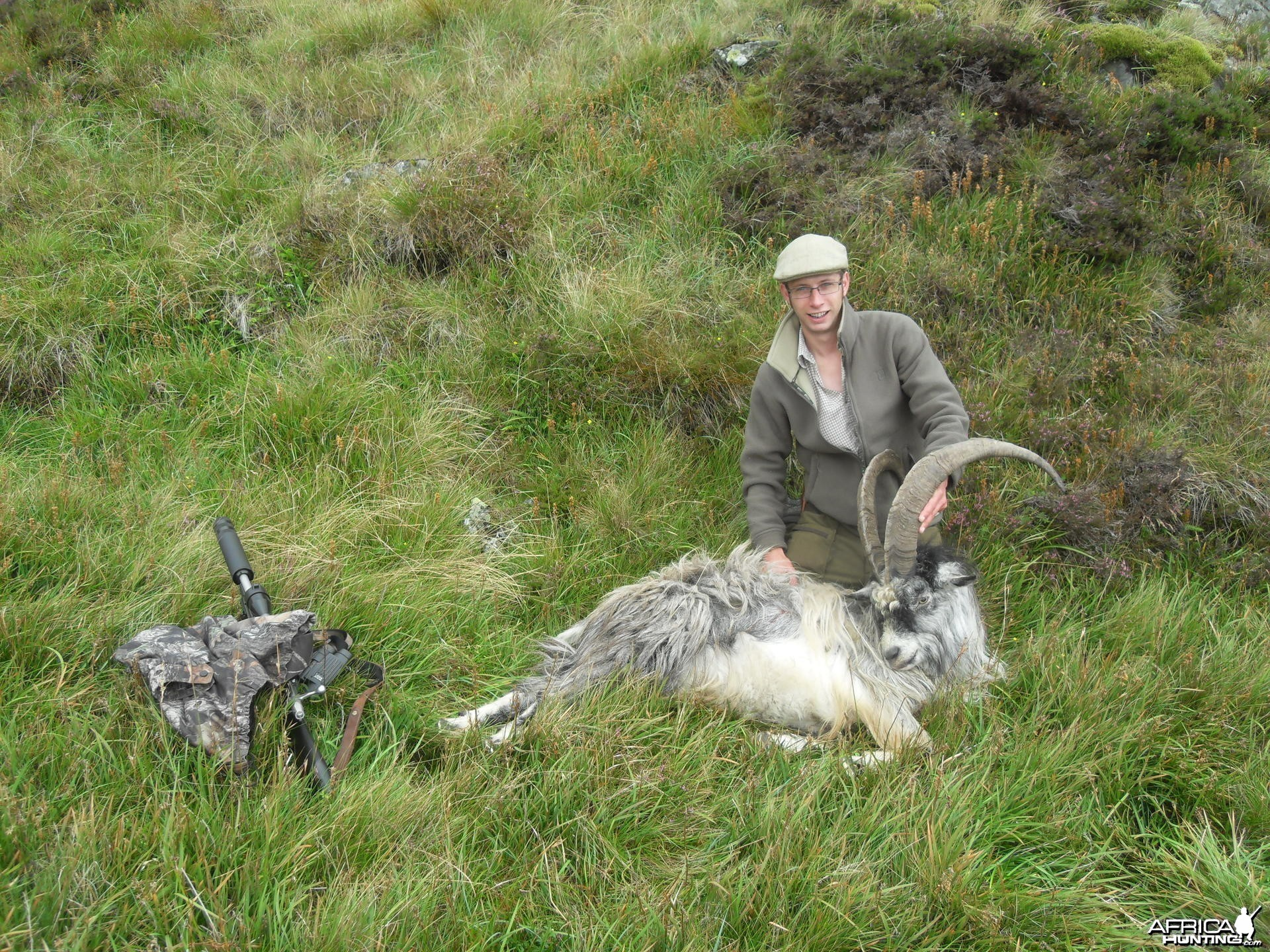 Hunting Scottish Goats in the Scottish Mountains