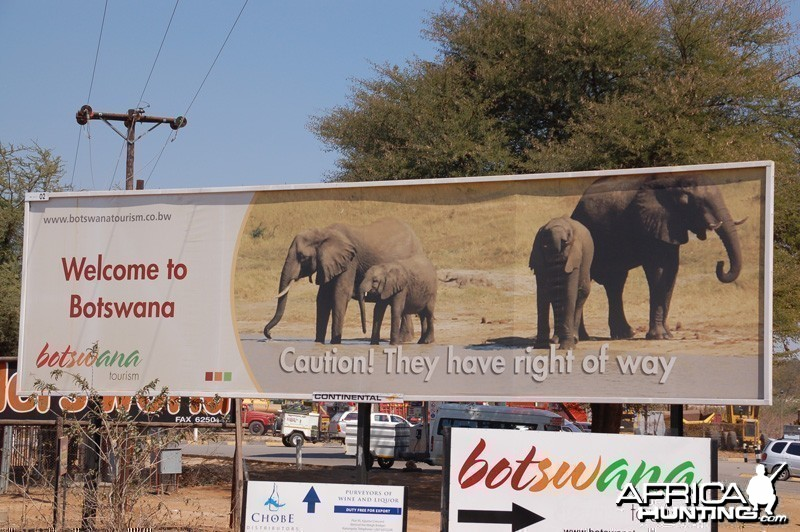 Taken just through the border crossing from Zimbabwe to Botswana