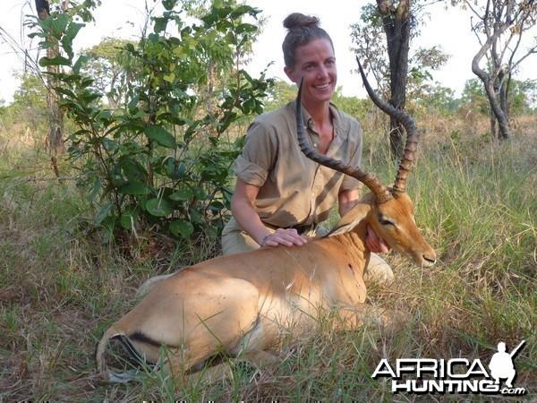 Hunting Impala in Tanzania