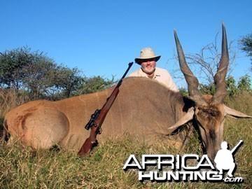 Hunting Cape Eland