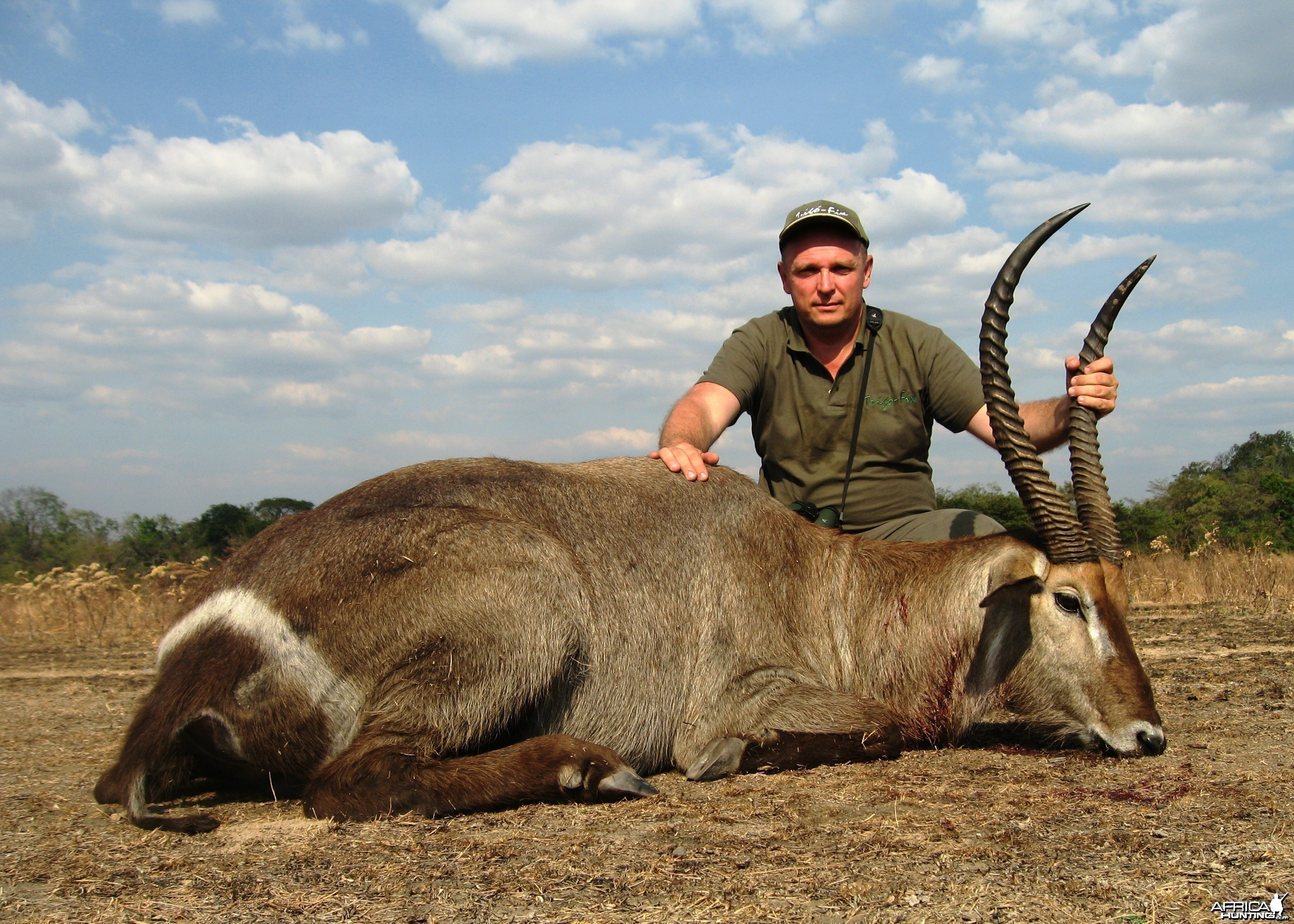 Hunting Waterbuck in Tanzania