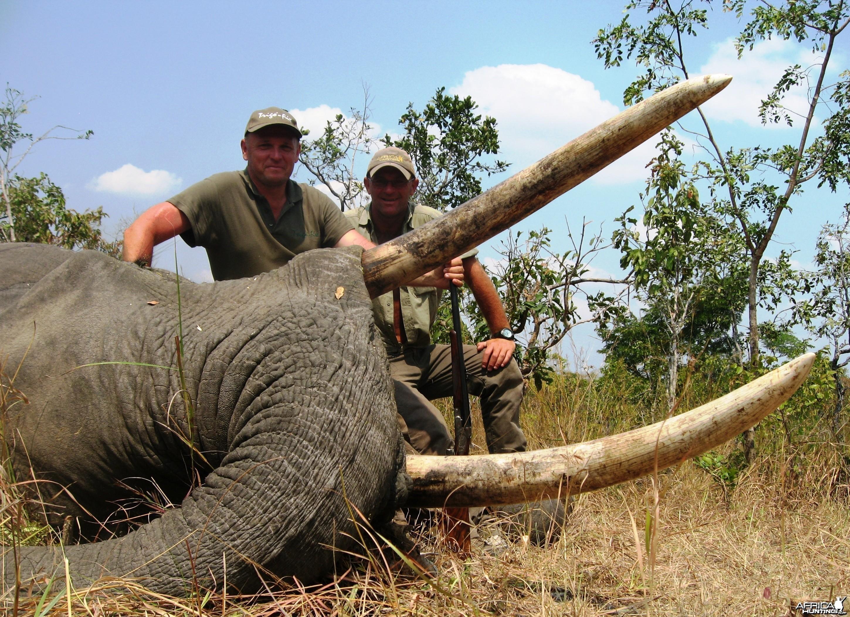 Hunting Elephant in Tanzania