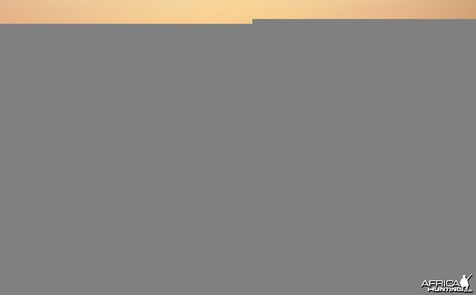 Sunrise over the Luwegu river in Tanzania