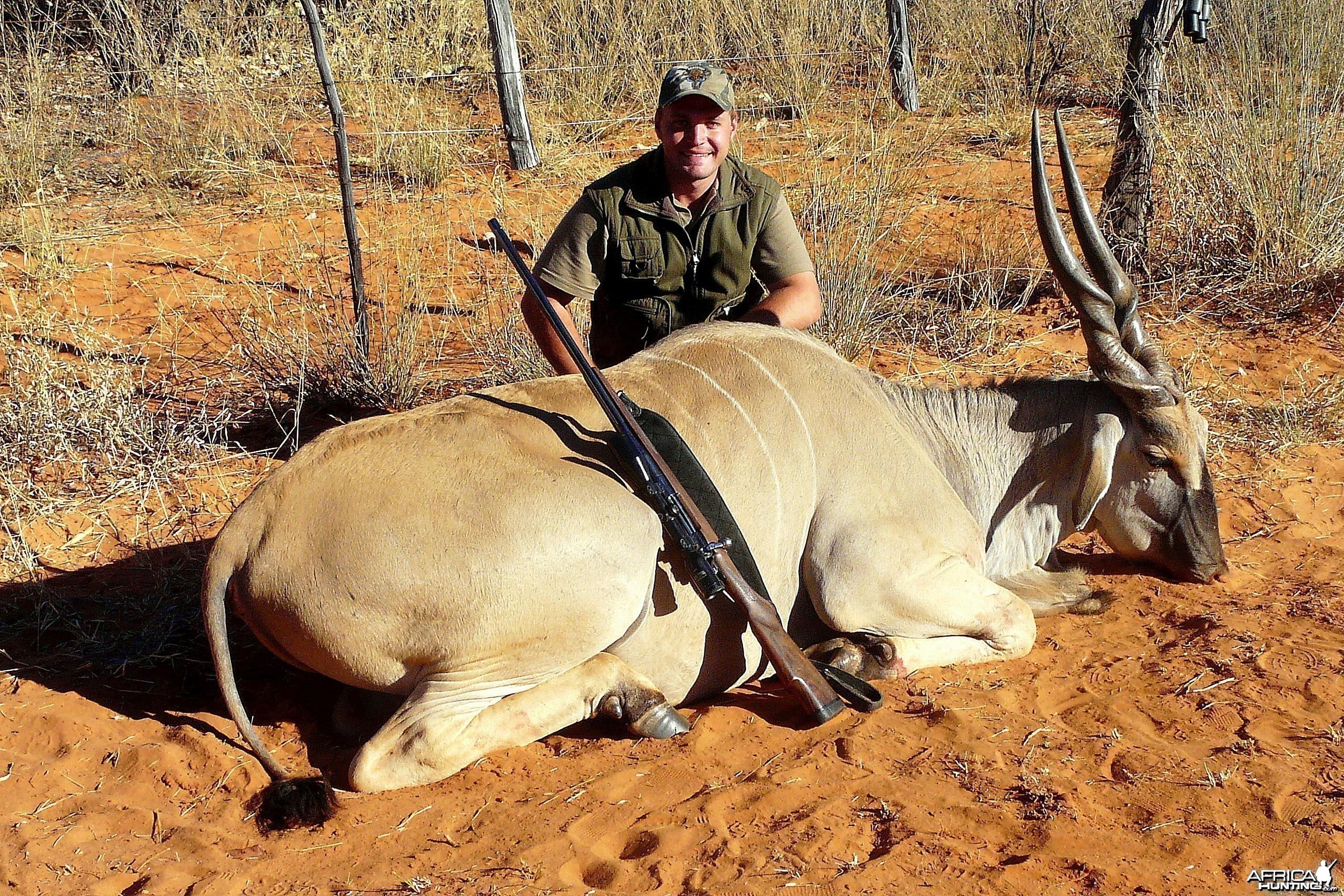 "39""Livingstone Eland taken near Grootfontein,Namibia"