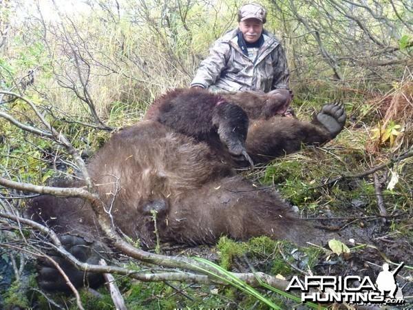 Brown Bear Hunting at Togiak Lake in Alaska