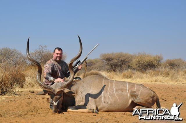 Kudu Namibia Hunt