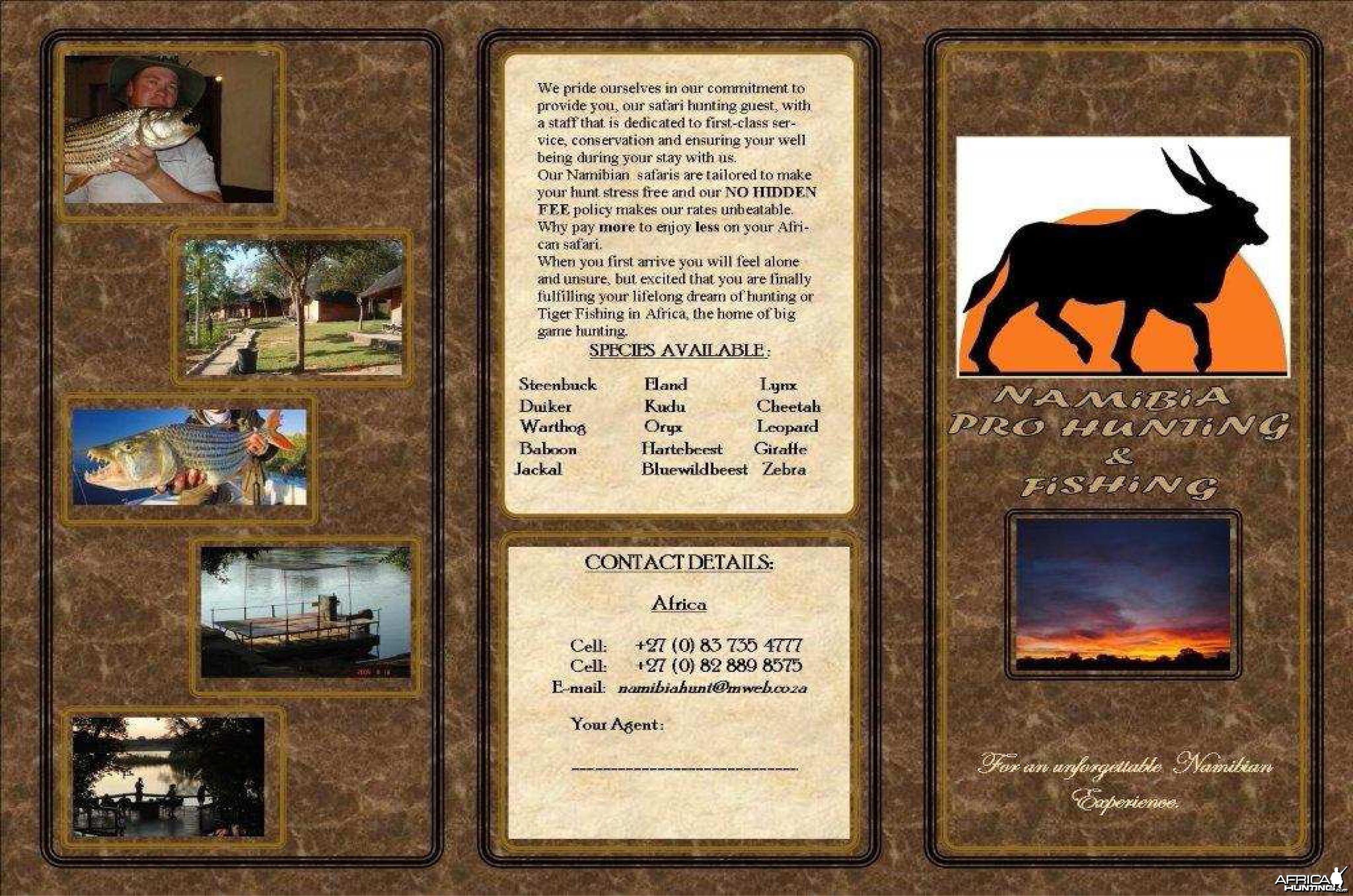 NAMIBIA PRO HUNTING & FISHING 2
