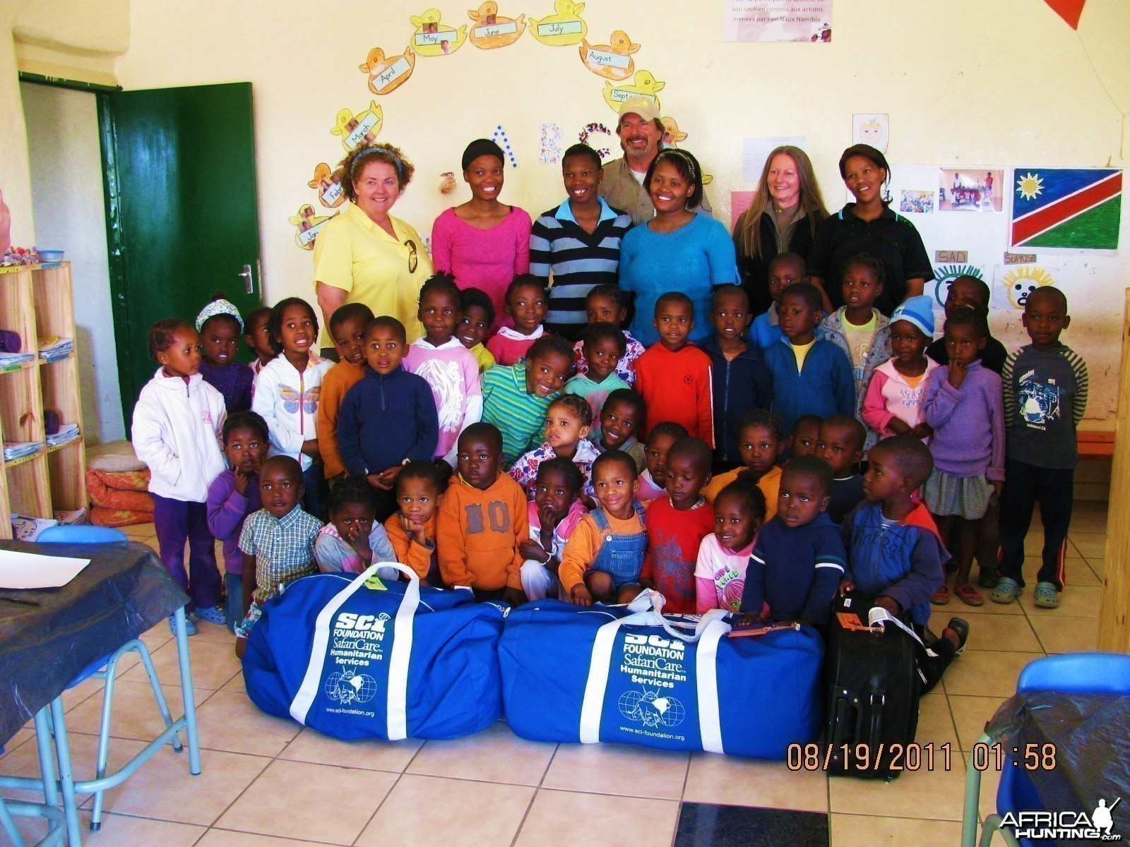 SafariCare Program Blue Bags