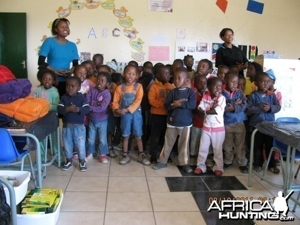 SafariCare Program Blue Bags