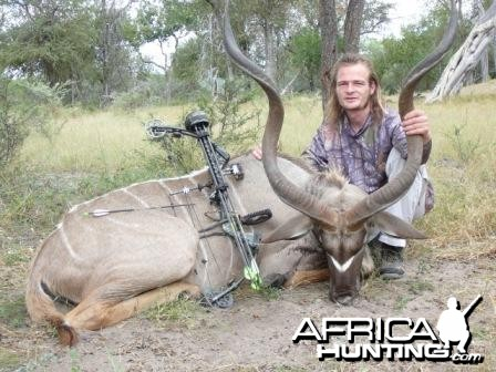 Kudu with bow