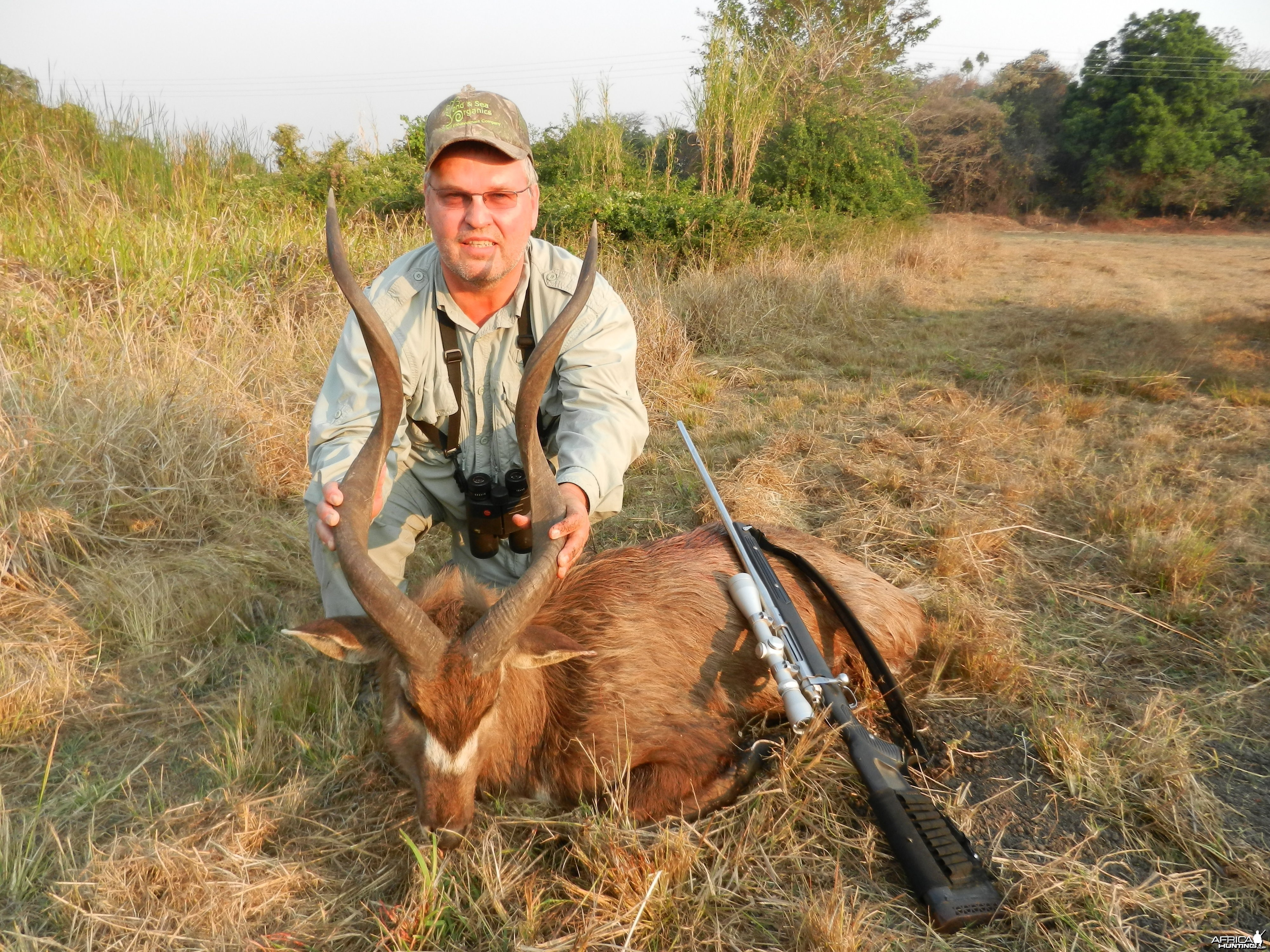 32 inch Sitatunga hunted in Zambia