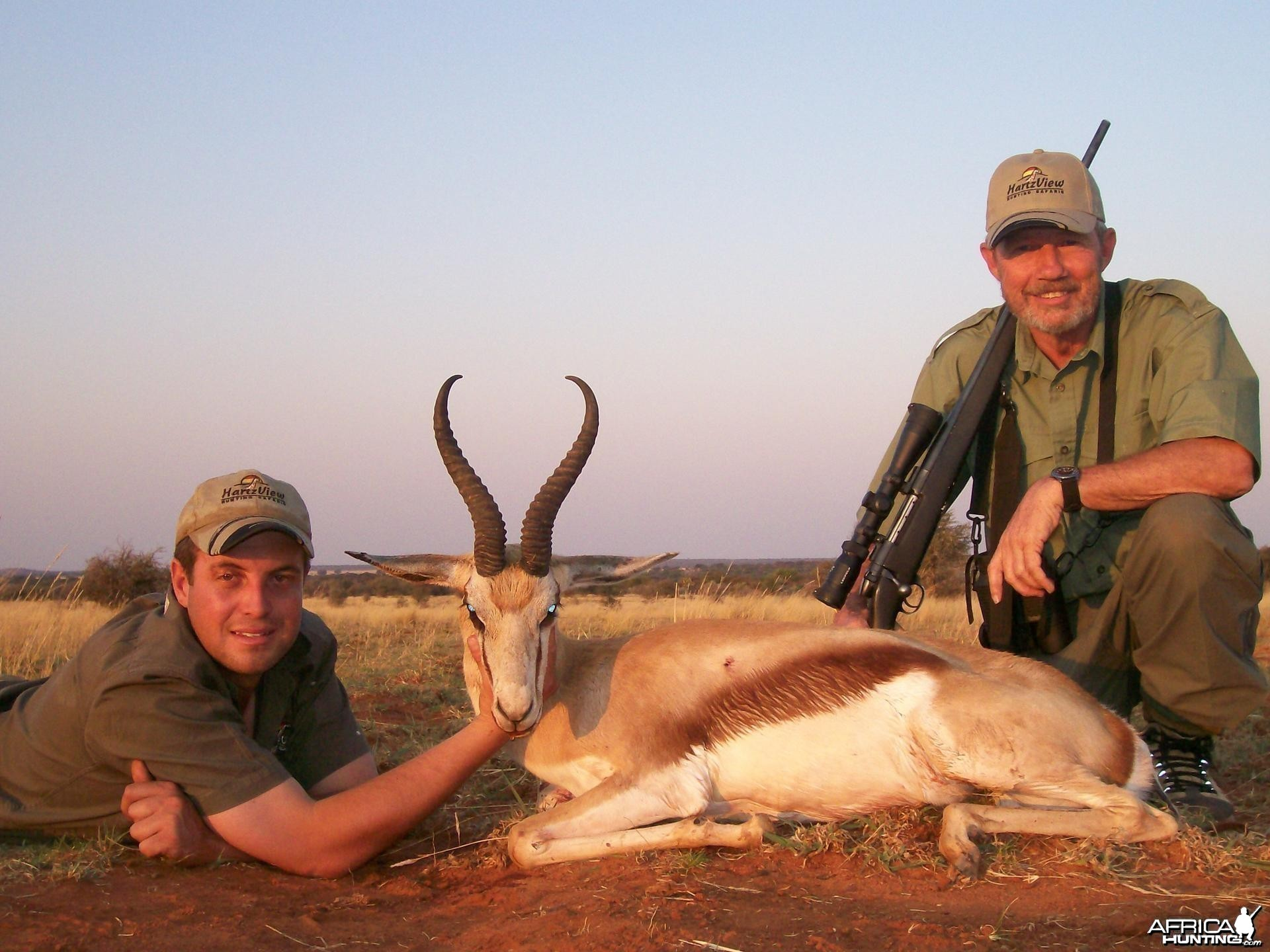 Springbok Hunt at HartzView Hunting Safaris