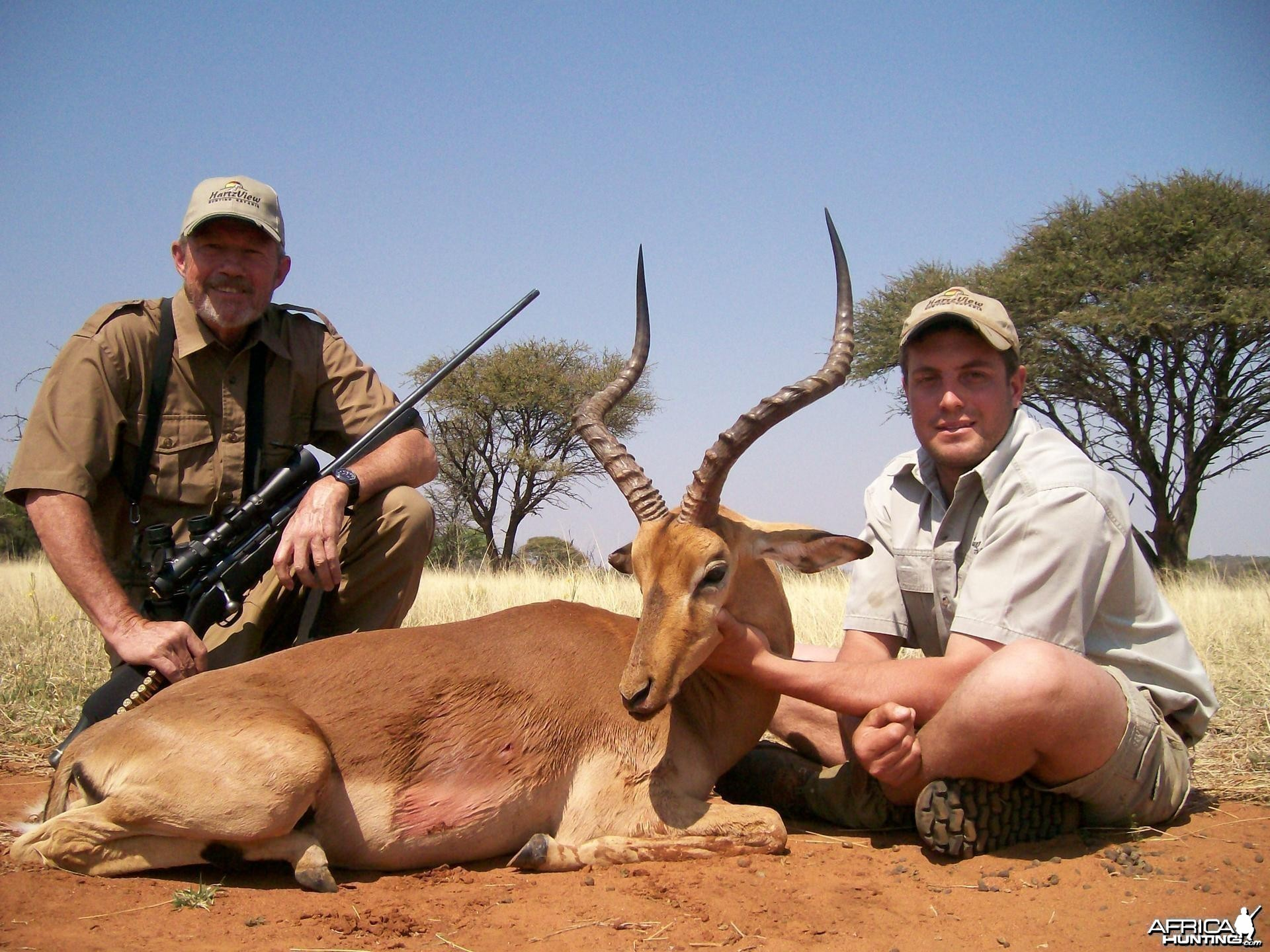 Impala Hunt at HartzView Hunting Safaris