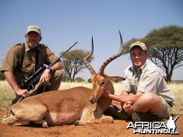 Impala Hunt at HartzView Hunting Safaris