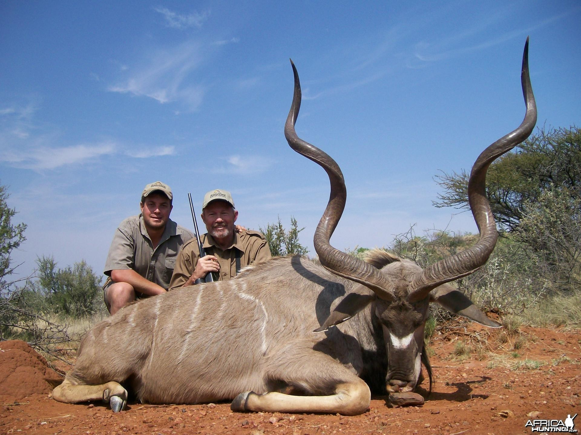 kudu Hunt at HartzView Hunting Safaris