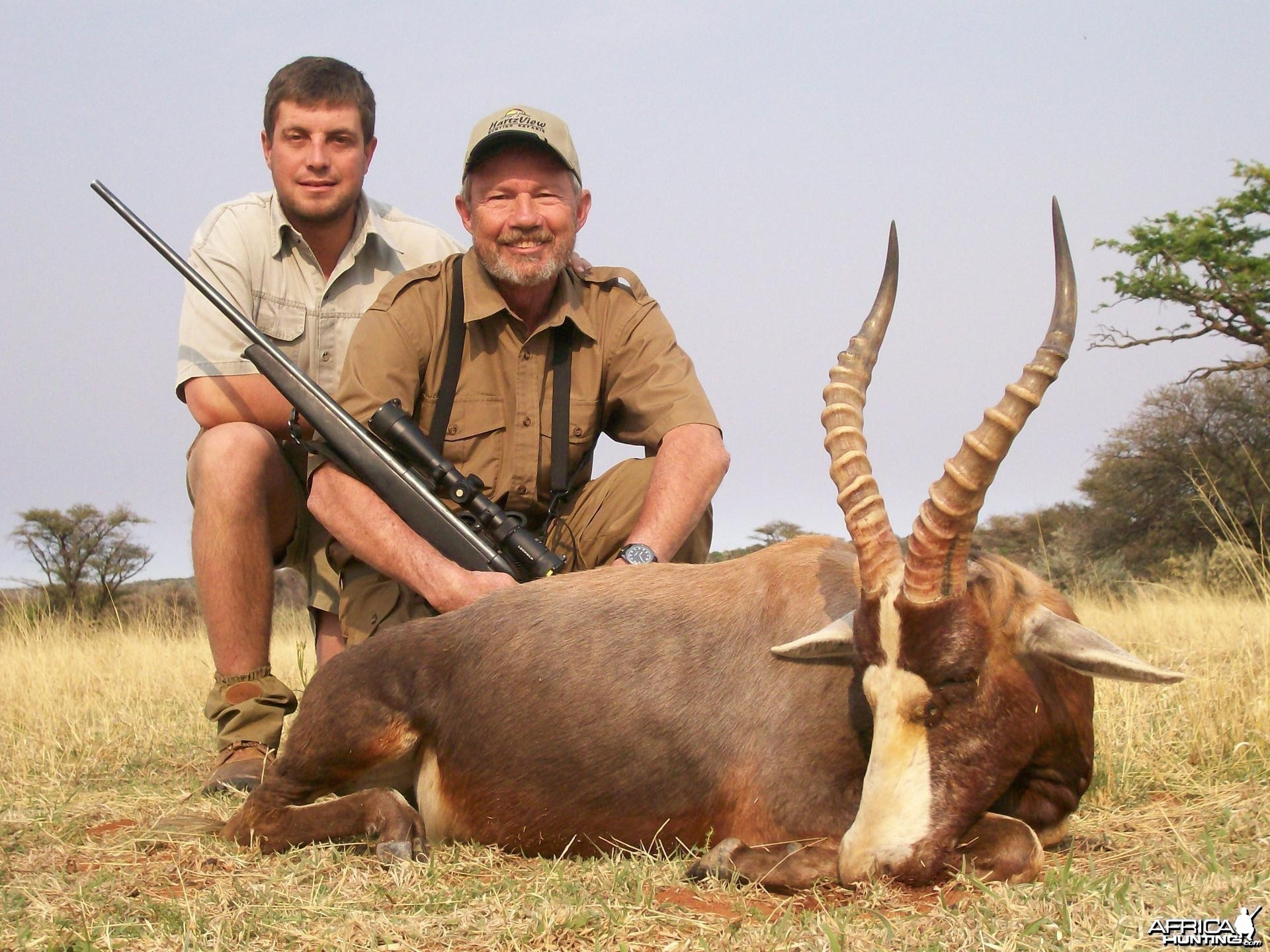 B;esbok Hunt at HartzView Hunting Safaris