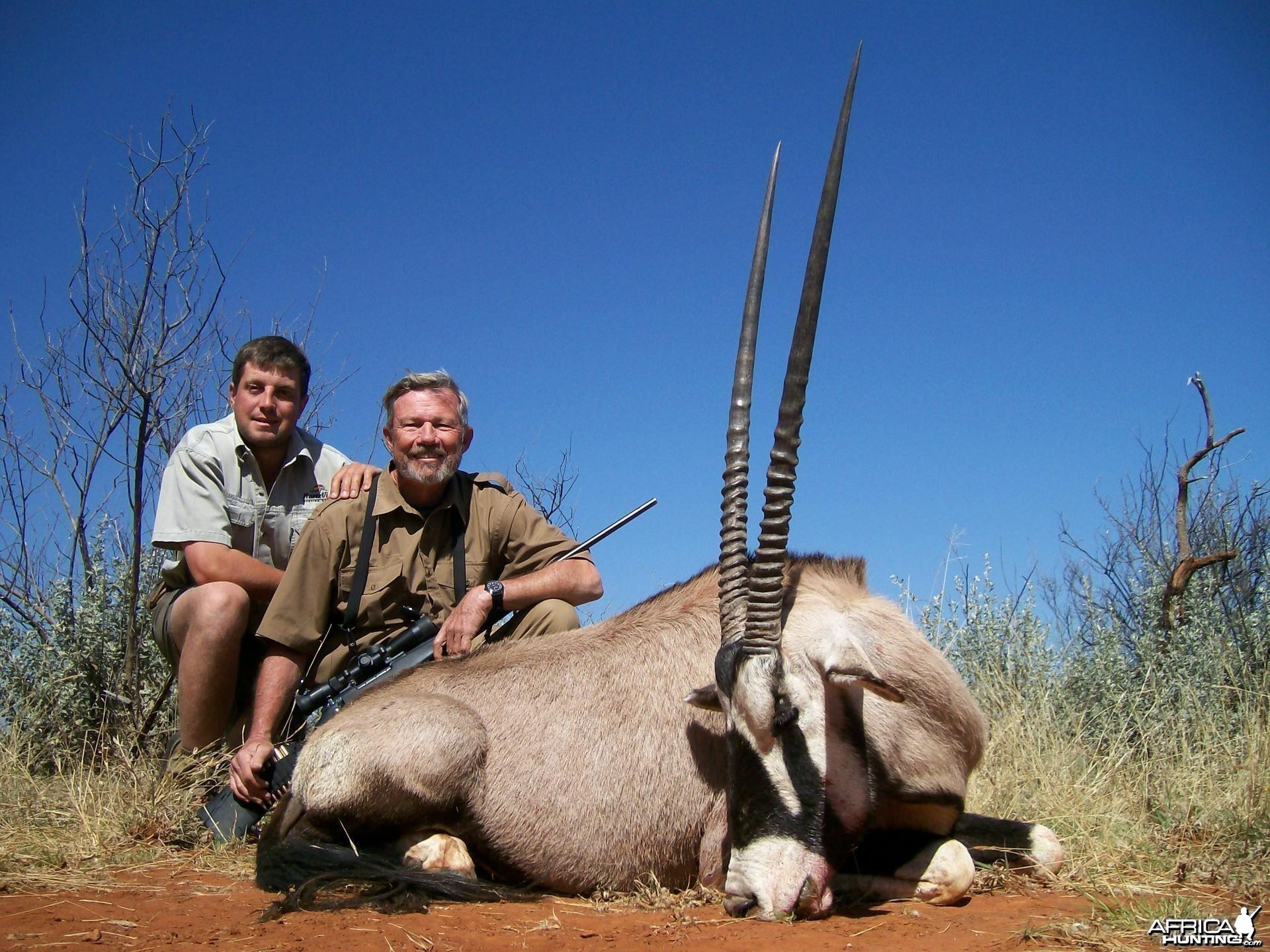Gemsbok Hunt at HartzView Hunting Safaris