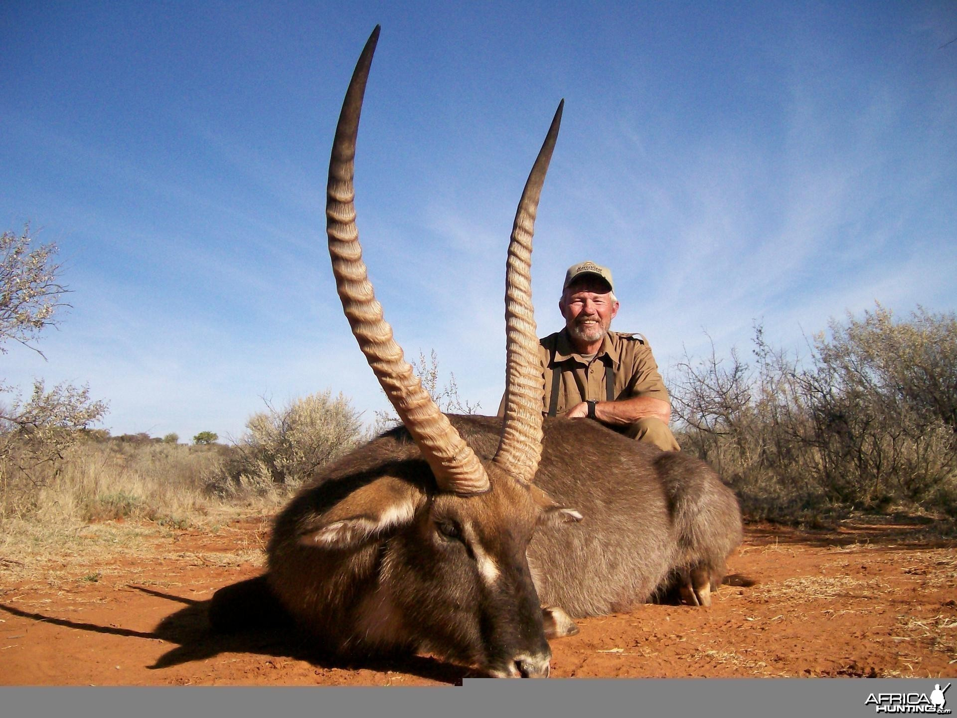Waterbuck Hunt at HartzView Hunting Safaris