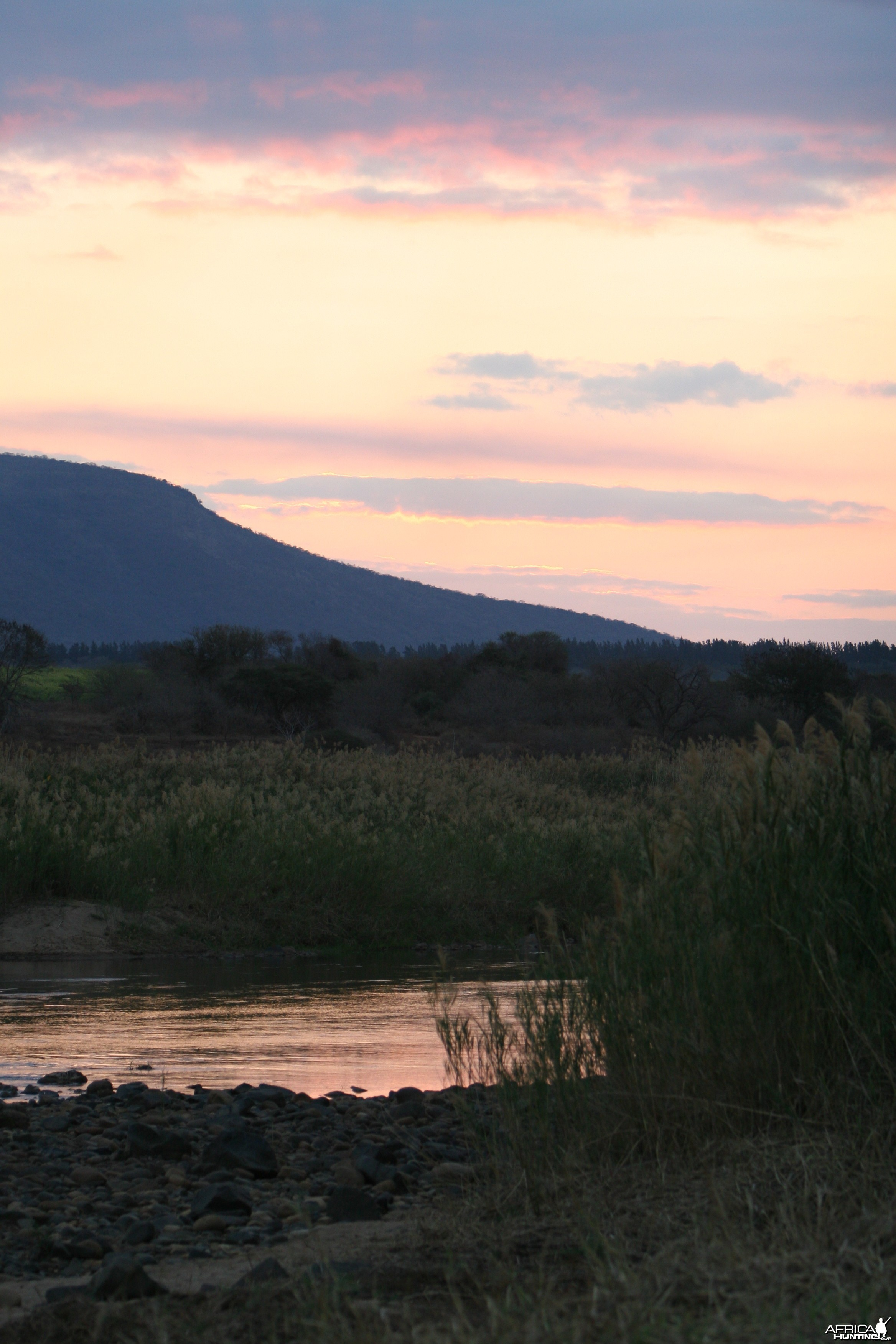 Pongola River Sunset